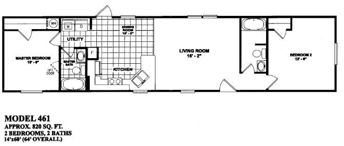 Oilfield trailer houses unit floor plans prices on mancamps for 14x40 mobile home floor plans